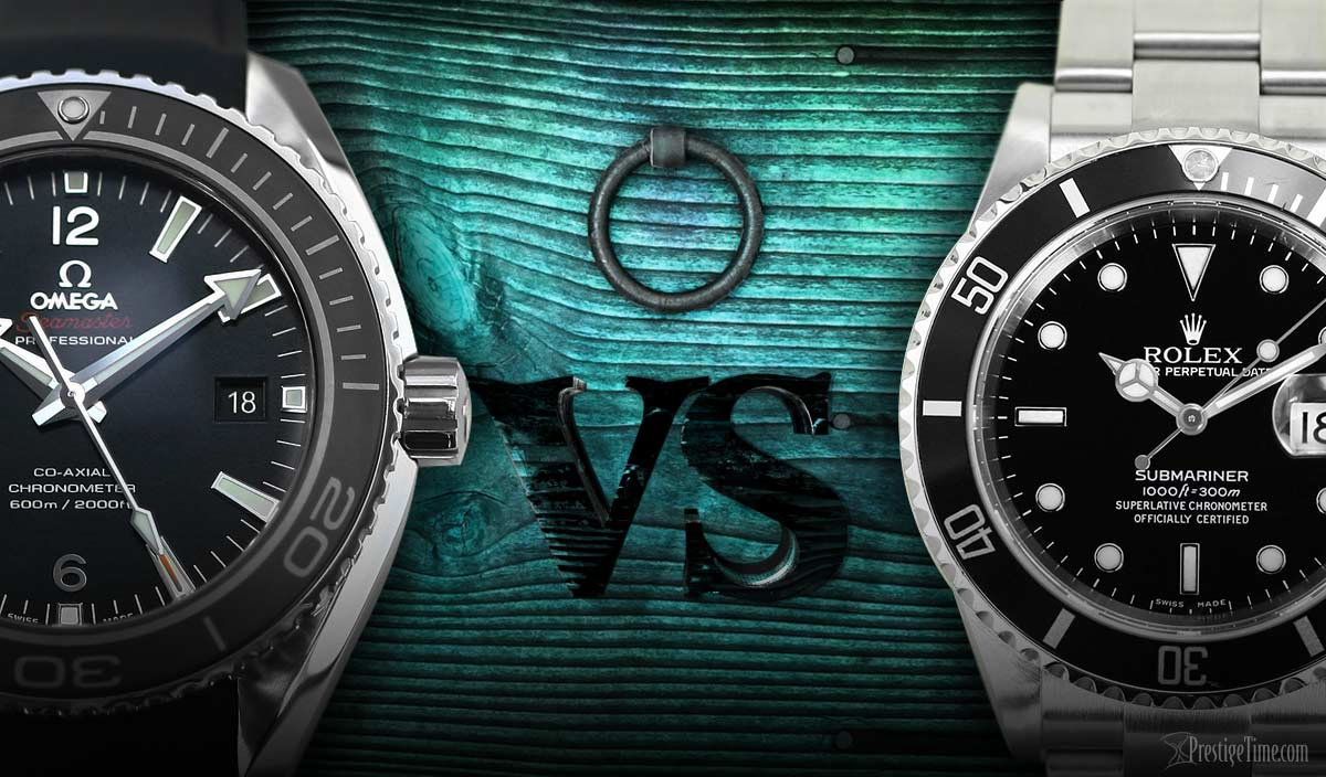 098b1763b1a71 OMEGA VS ROLEX - Compare 2 Top Brands