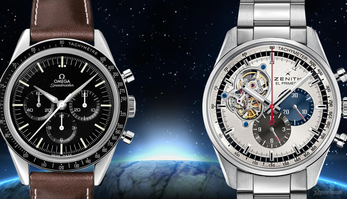 Omega VS Zenith Watches