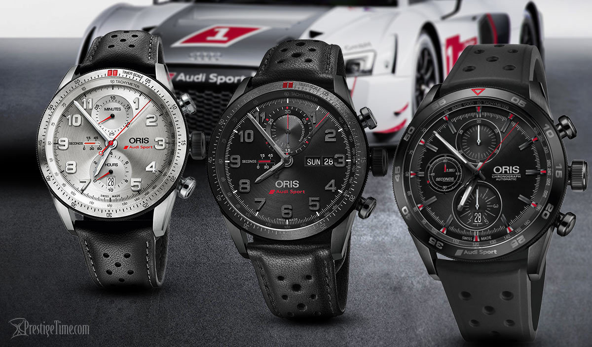 Oris Audi Sport Limited Edition Chronographs