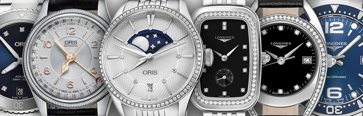 Oris and Longines Womens Watches