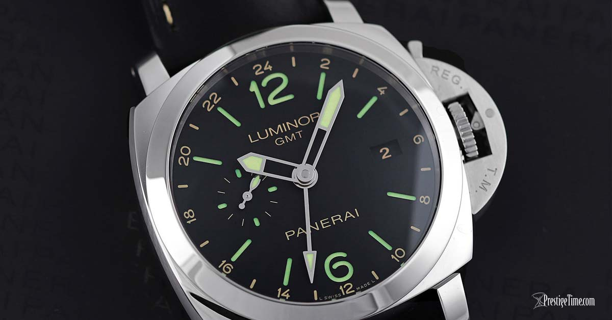 Panerai Luminor GMT 44mm pam00531 Dial