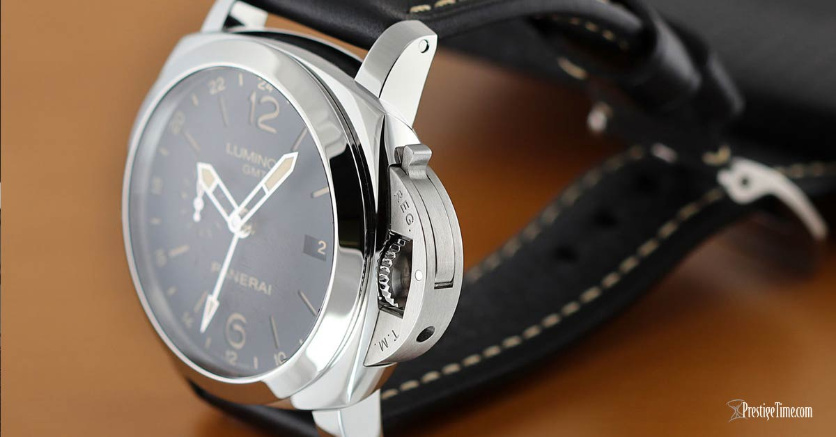Panerai Luminor GMT 44mm pam00531 crown guard