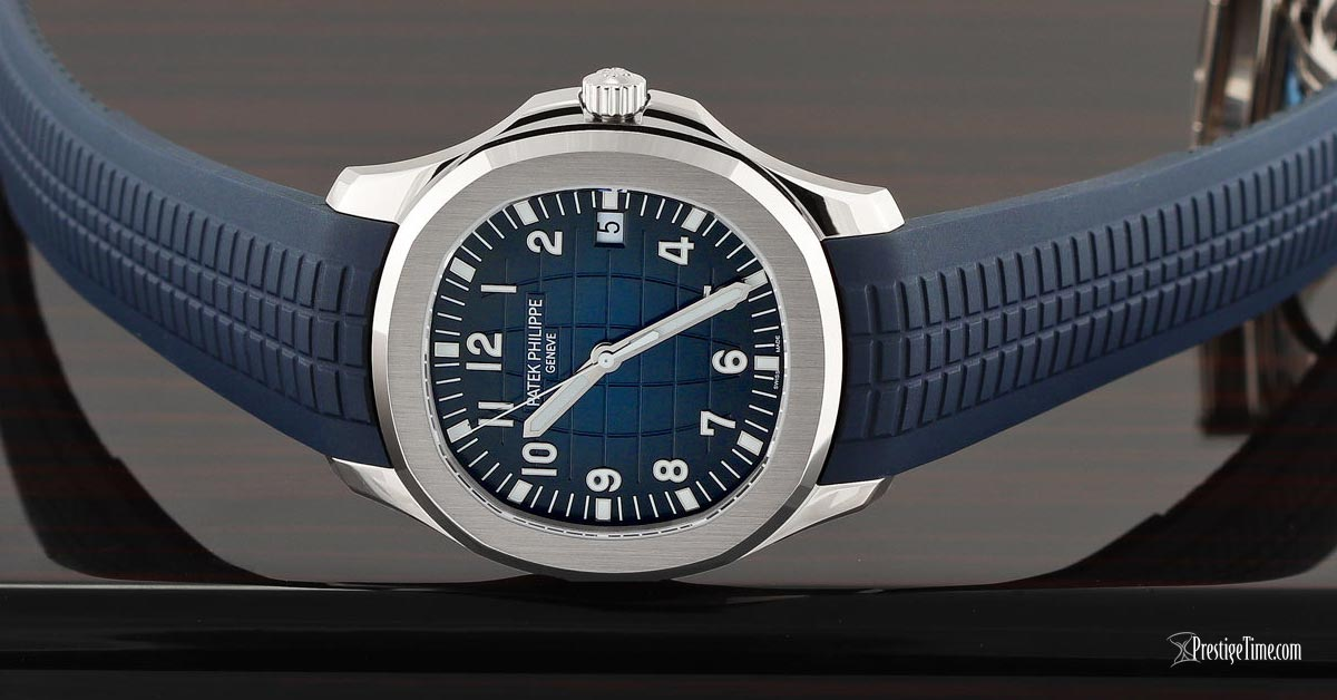 Patek Philippe Aquanaut Jumbo 20th Anniversary 5168G-001 Review