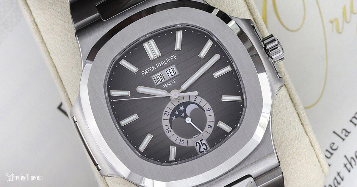 Patek Philippe Nautilus Annual Calendar Moonphase Review