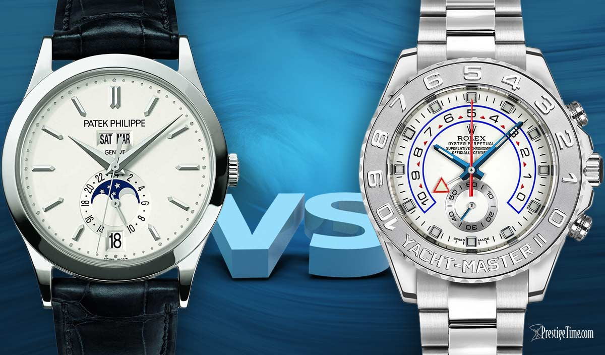 Patek Philippe VS Rolex Watches