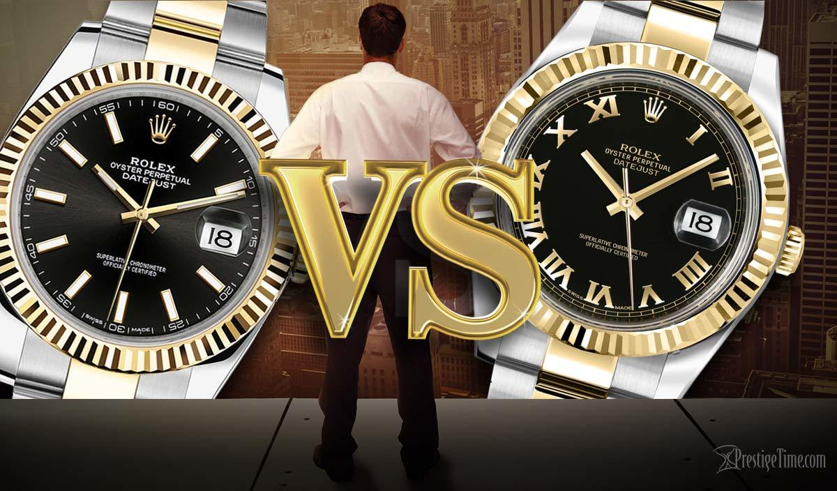 Rolex Datejust vs Datejust II