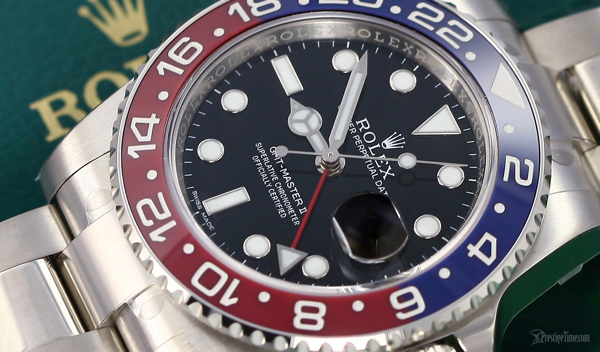 Rolex Pepsi GMT Watch