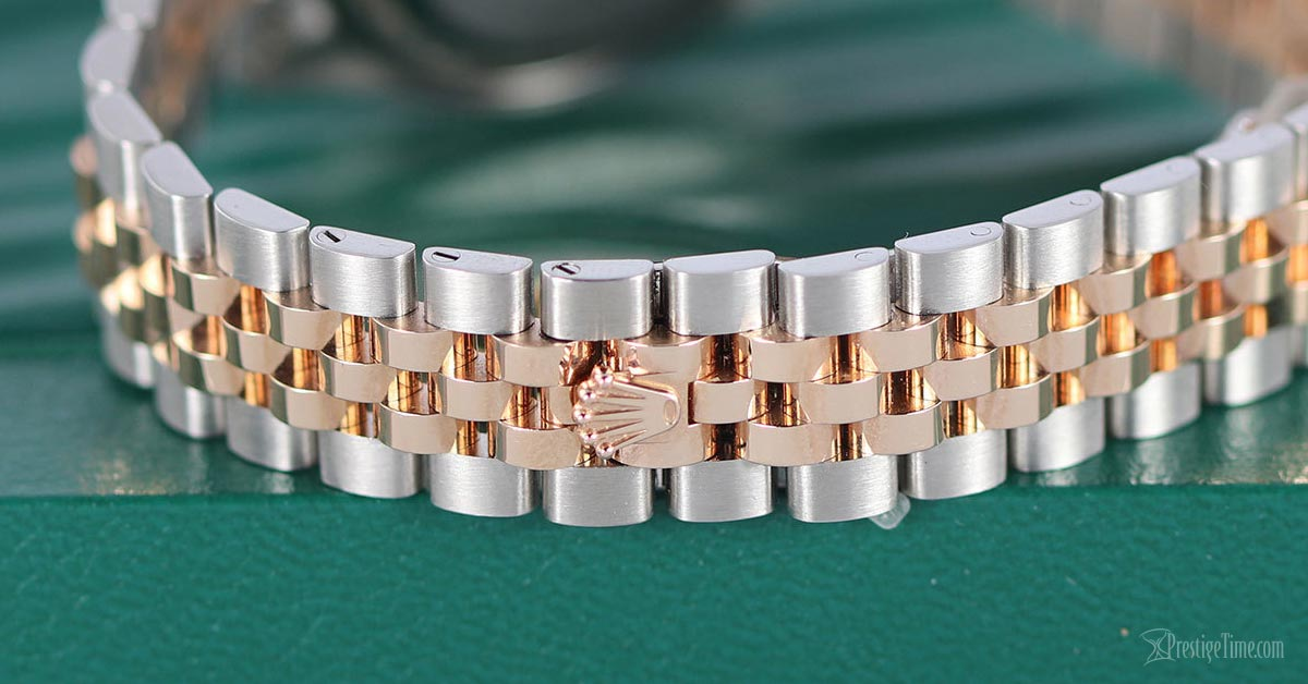 Rolex Lady Datejust 279161 two tone Jubilee bracelet