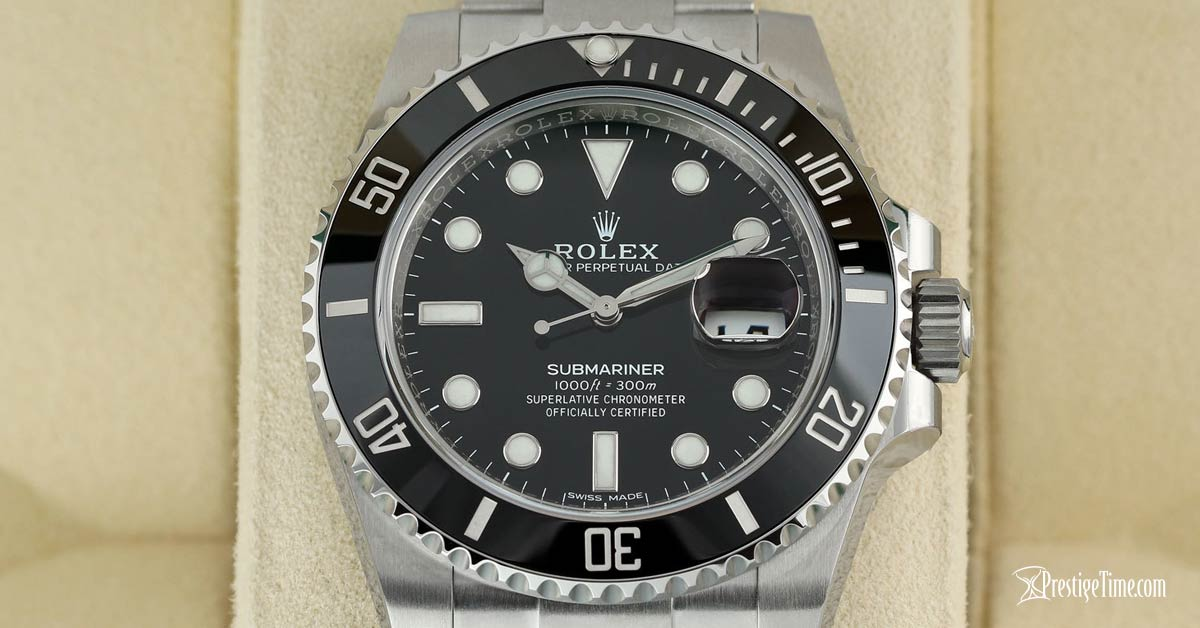 Rolex Submariner Date 116610LN Dial