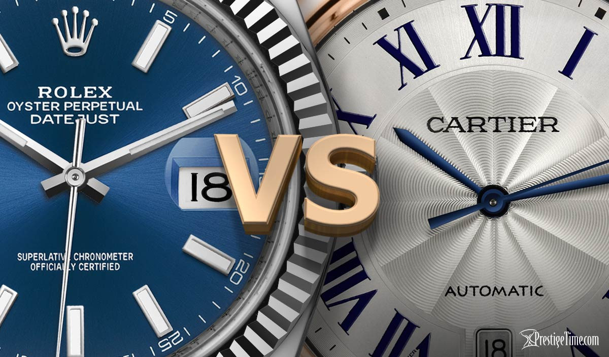 Rolex VS Cartier: Which is Best?