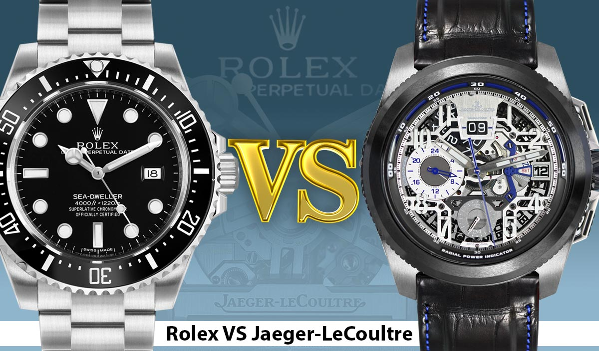 Jaeger-lecoultre Which Vs Rolex Better Is