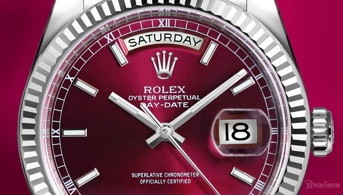 Top 5 Rolex wates with Red Dials - Best Burgundy-colored Rolex