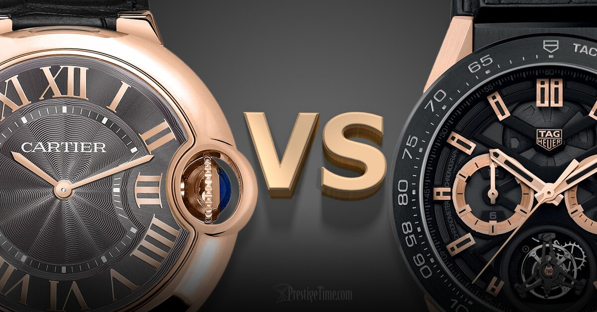 Cartier VS TAG Heuer: Which is Best?