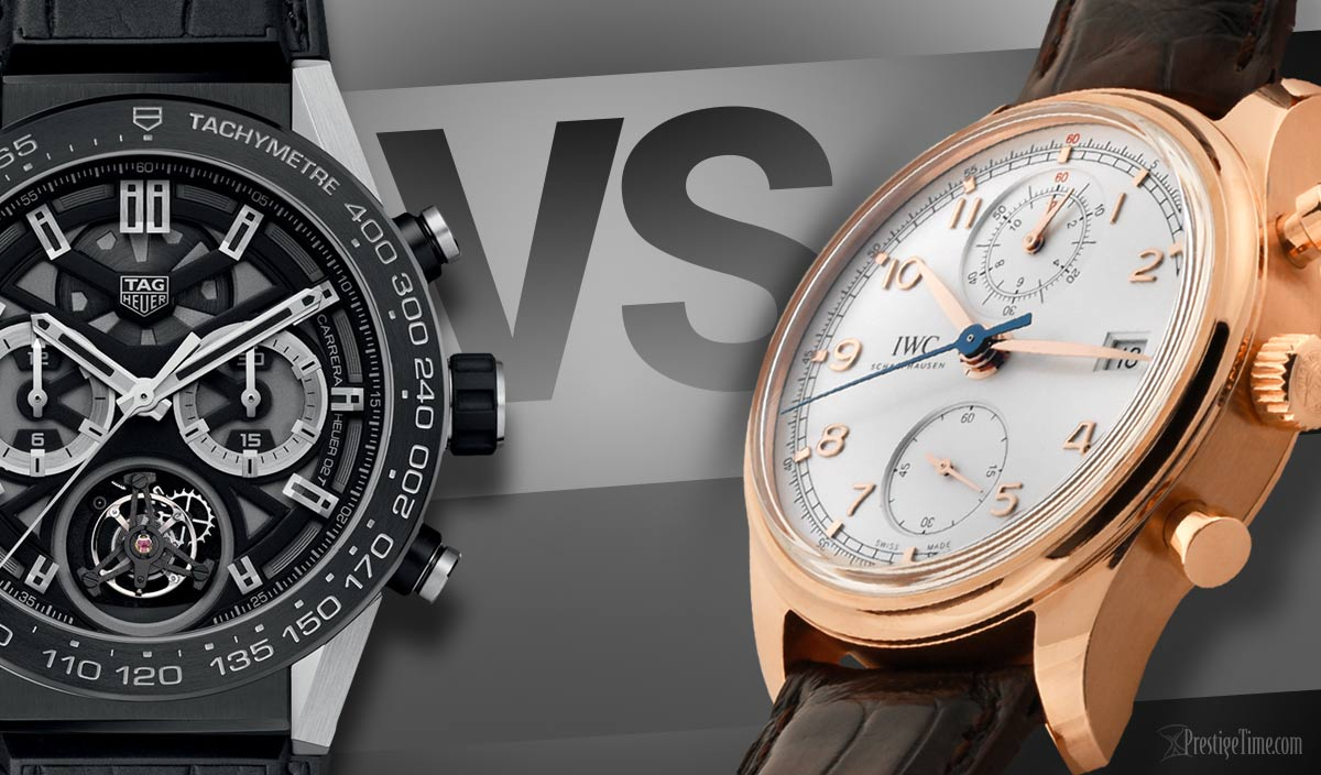 TAG Heuer VS IWC Schaffhausen: Which is Best?