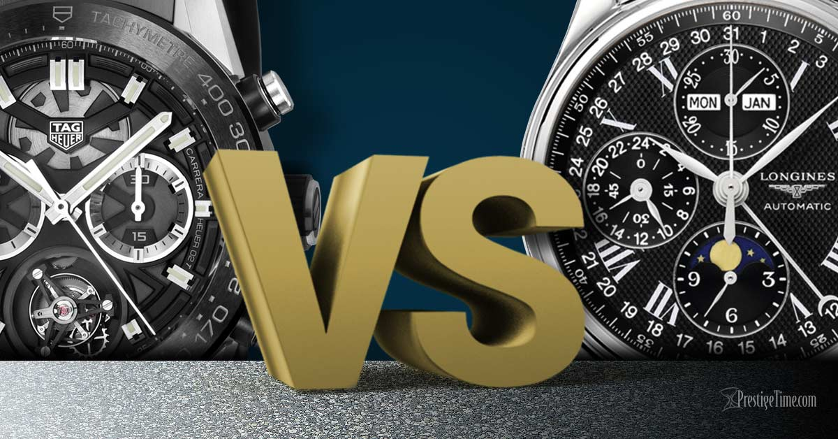 f265bca61c3 TAG Heuer VS Longines  Which is Best