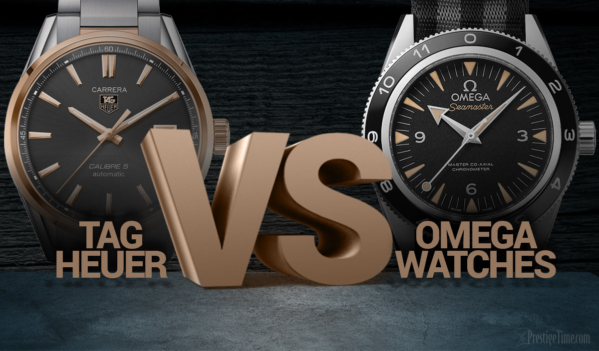 TAG Heuer VS Omega Watches. Which Brand is Better?
