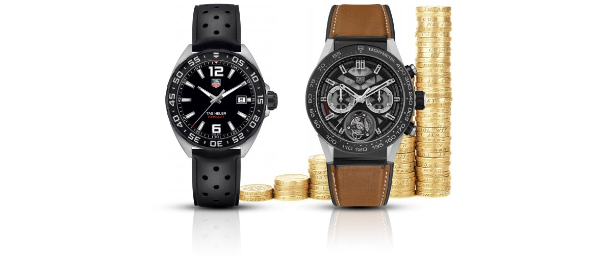 TAG Heuer watch prices