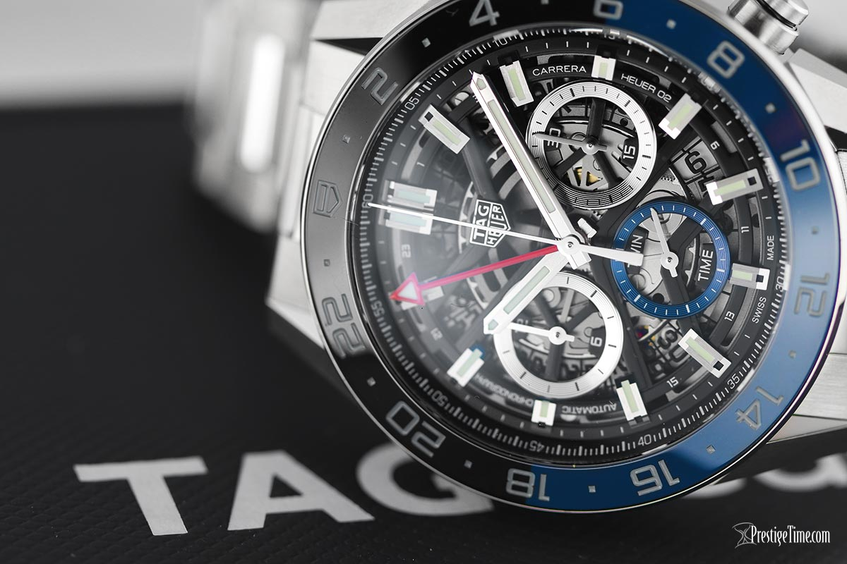 Tag Heuer Carrera Calibre Heuer 02 GMT 45mm watch