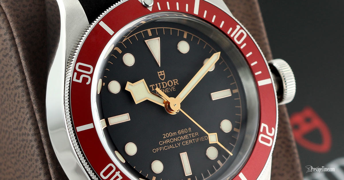 Turdor Black Bay 41mm Review Dial