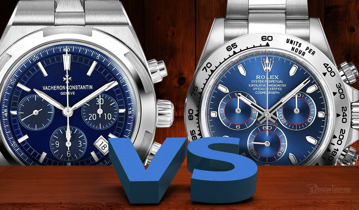 Vacheron Constantin VS Rolex Which is Best?