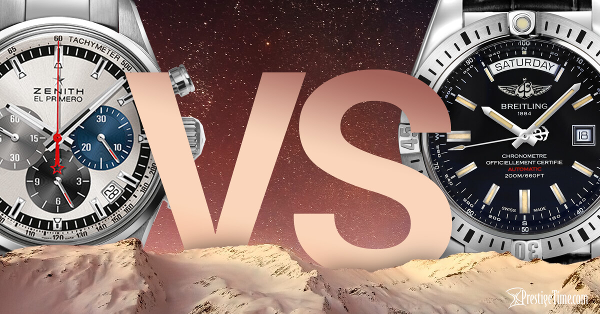 Zenith VS Breitling: Which is Best?