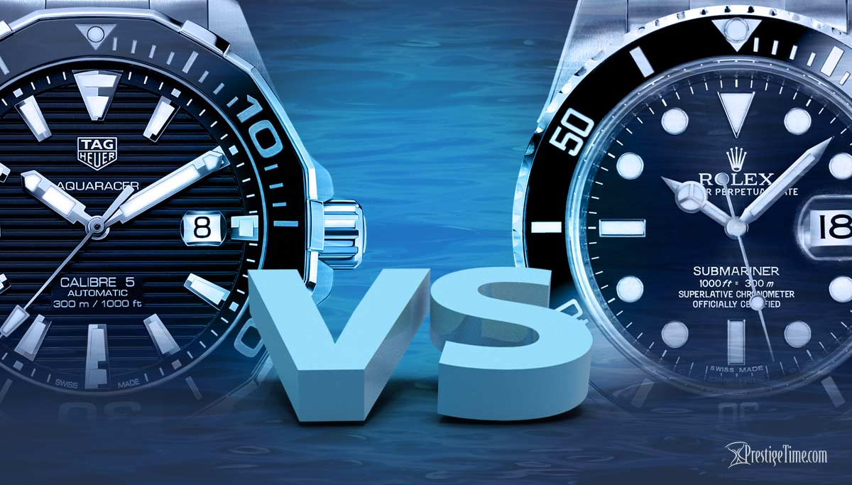 TAG Heuer Aquaracer VS Rolex Submariner | Which is Best?