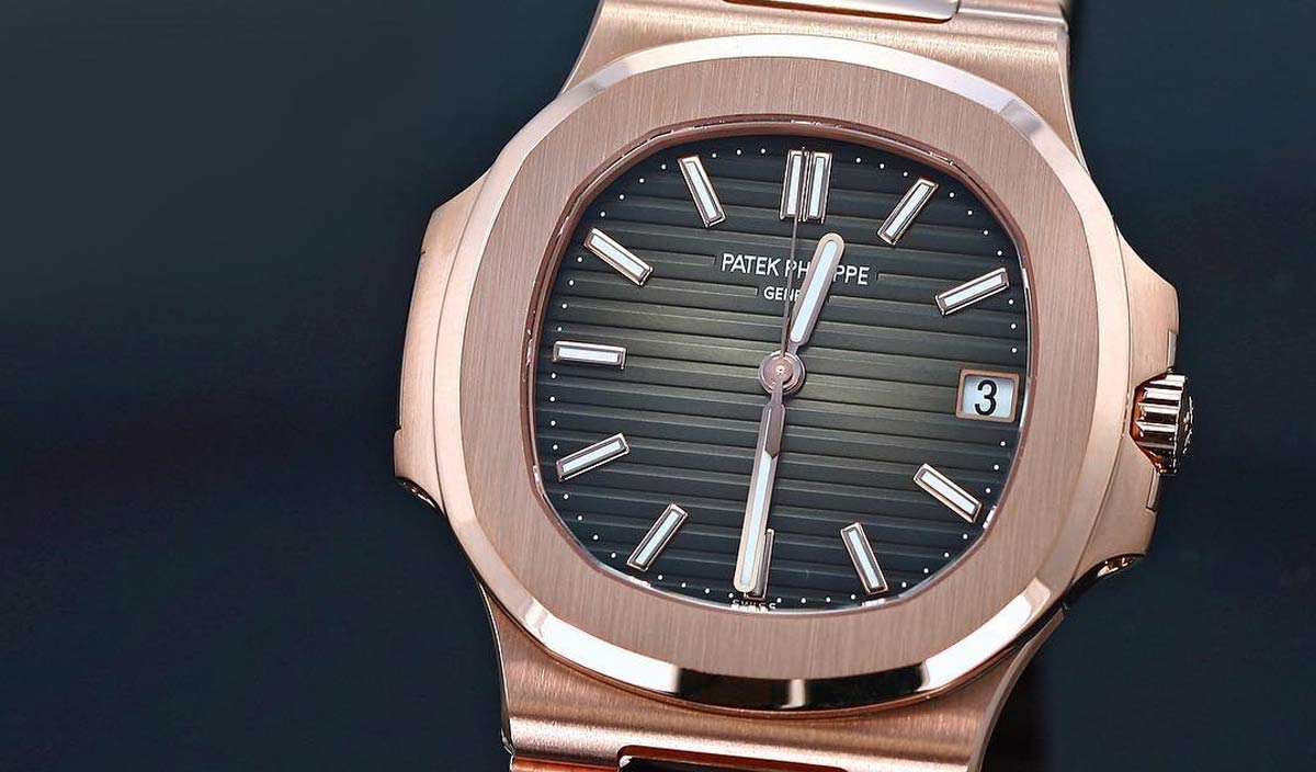 Patek Philippe Nautilus in Rose Gold