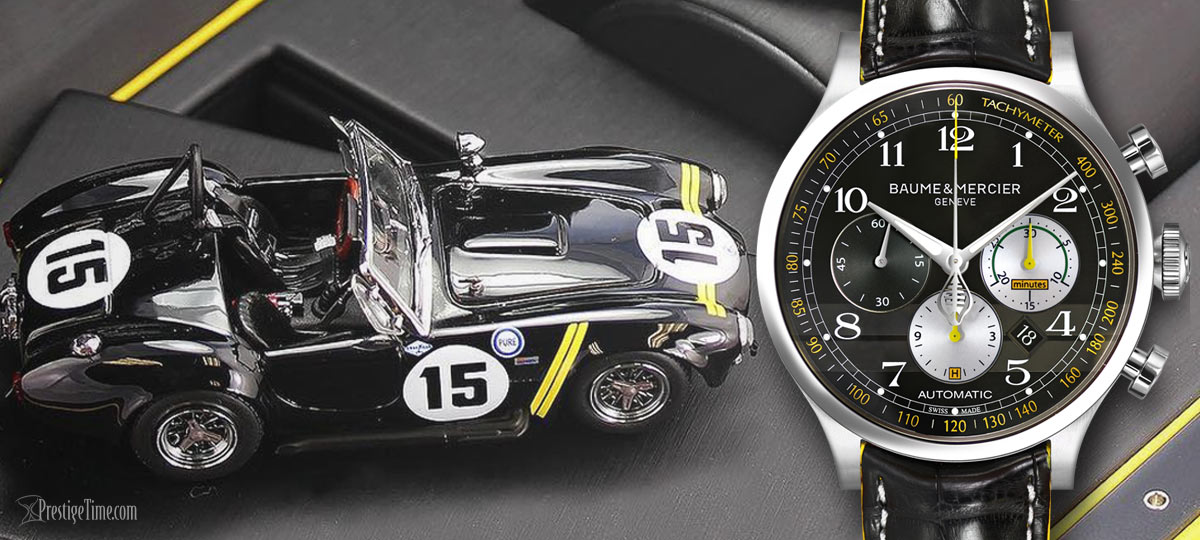 baume et mercier limited edition shelby cobra 1963 2