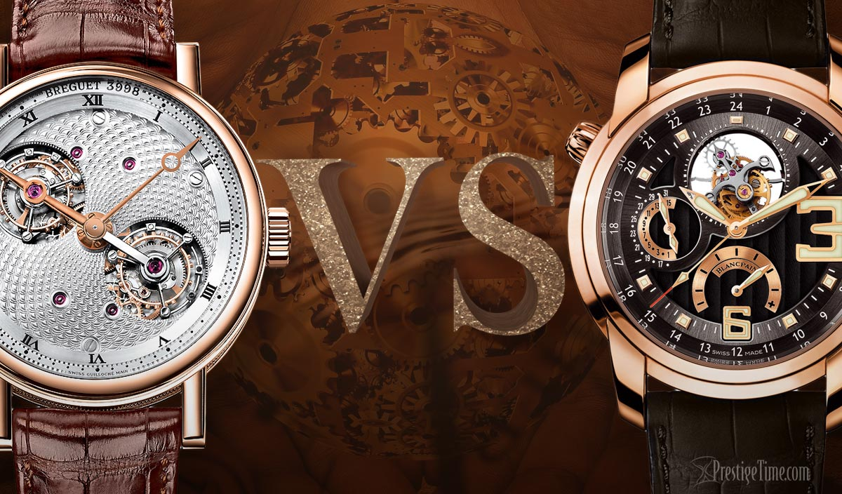 Breguet VS Blancpain Watches