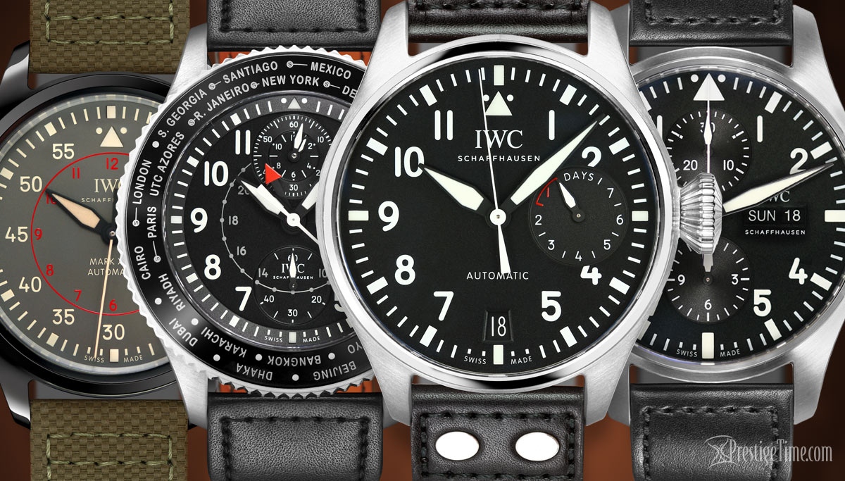 Let's Compare: IWC Pilot's Watches