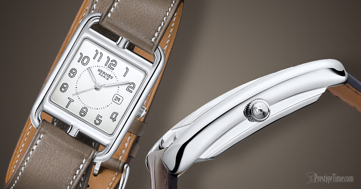 Hermes Cape Cod watch with Double Tour strap