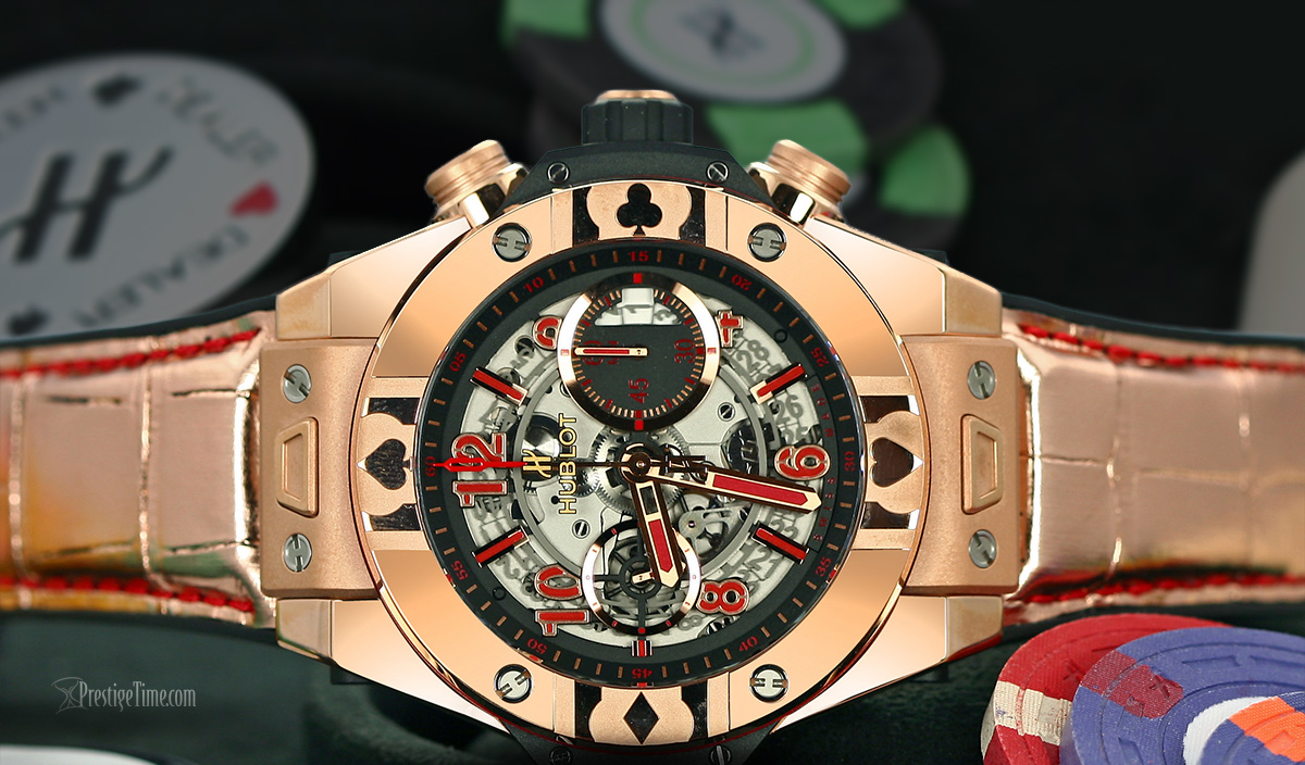 Hublot World Poker Tour Limited Edition