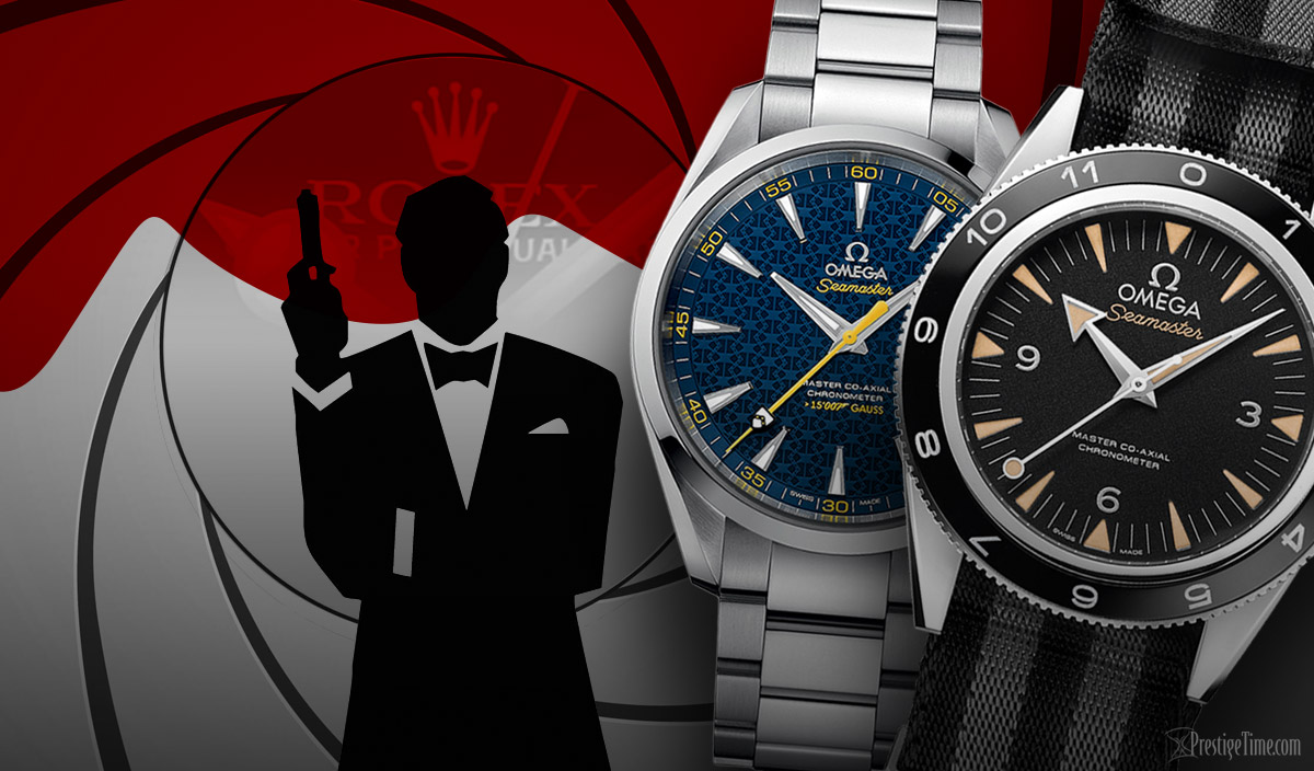 James Bond's Rlex and Omega Watches