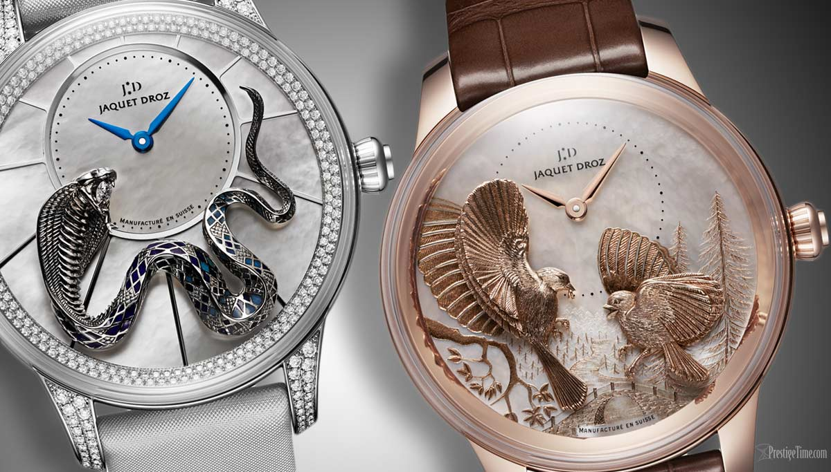 jaquet Droz Ateliers Dart Watches