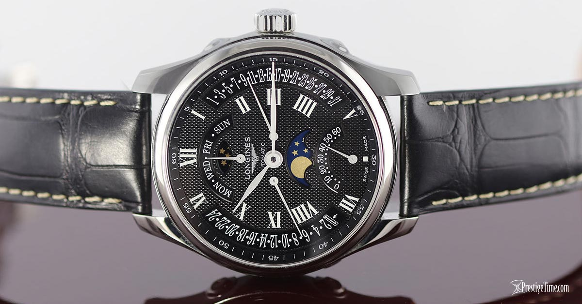 longines master retrograde seconds automatic