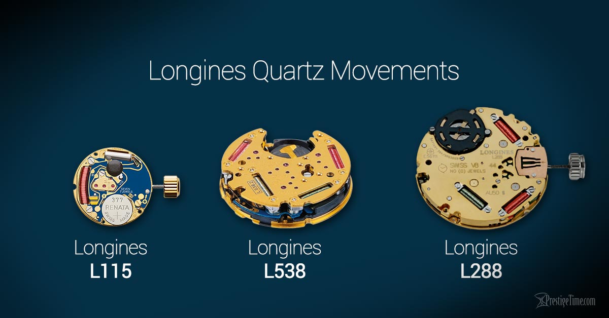 longines quartz movements
