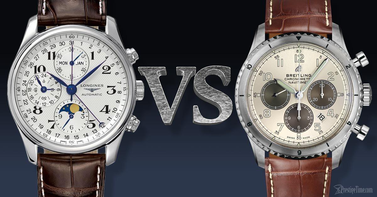 Longines VS Breitling Comparison
