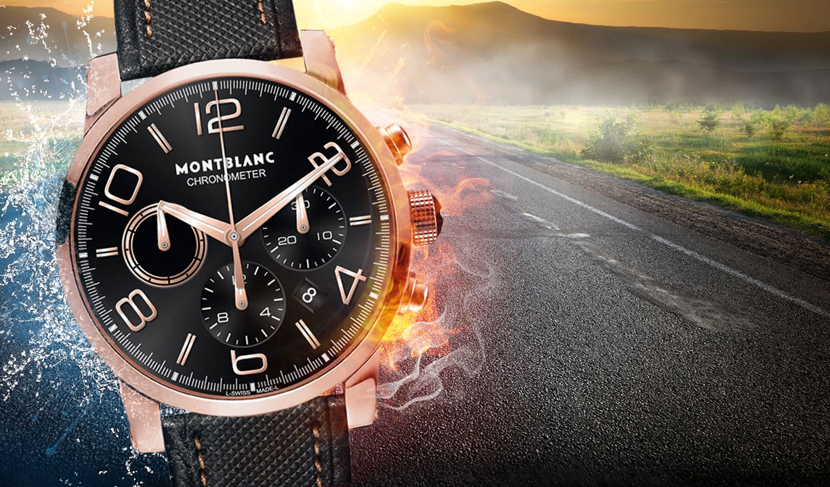 Montblanc TimeWalker Chronograph Automatic 43mm Watch