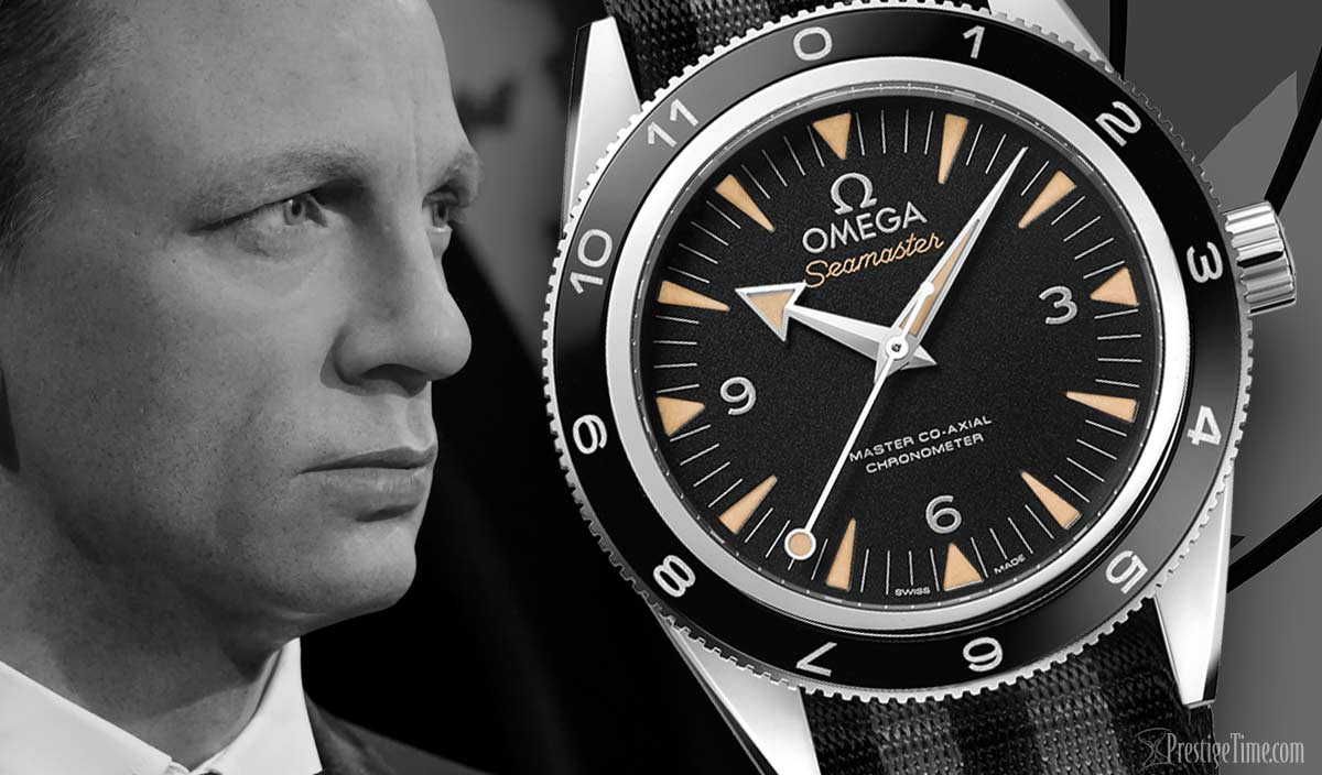Omega Spectre James Bond Limited Edition Watches