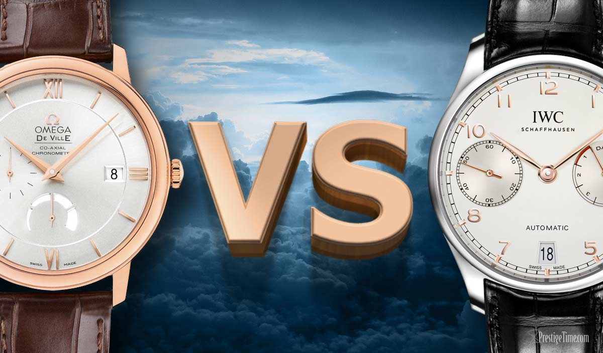 OMEGA VS IWC. A Full Comparison.  Which Brand is Best