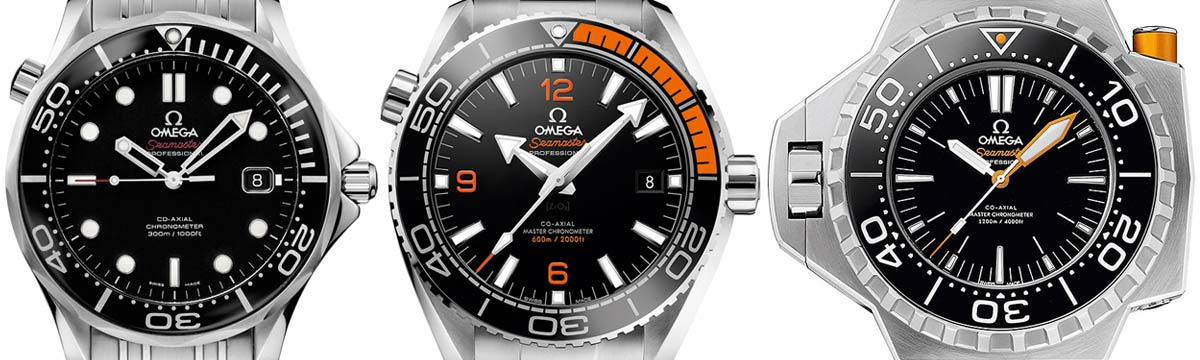 omegas most water resistant watches