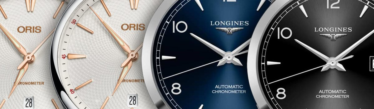 oris and longines chronometers