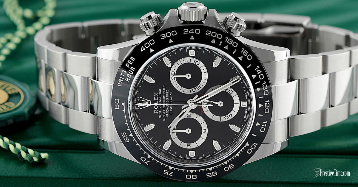 Rolex Cosmograph Daytona 116500LN Black Review