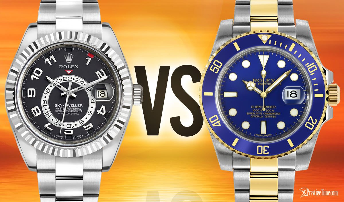8057bc4749a Rolex Sky-Dweller VS Submariner  Which one is the Best
