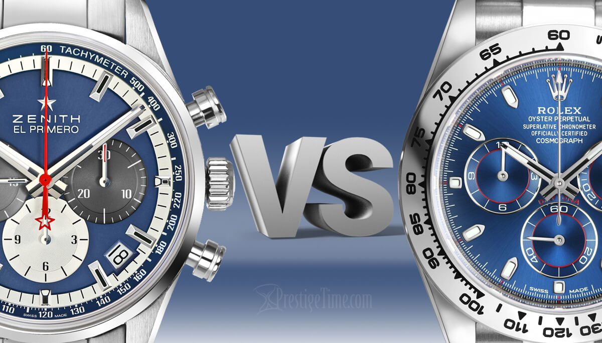 Rolex VS Zenith: Which is Best?
