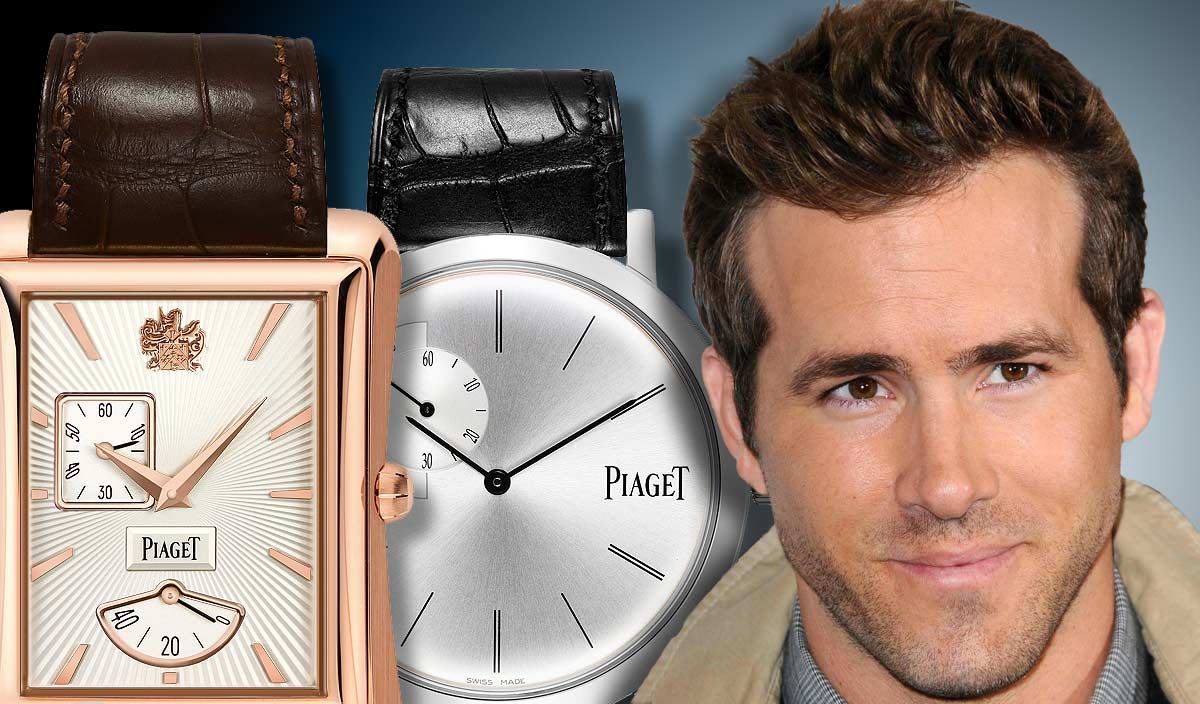Ryan Reynolds  named the new Piaget Brand Ambassador