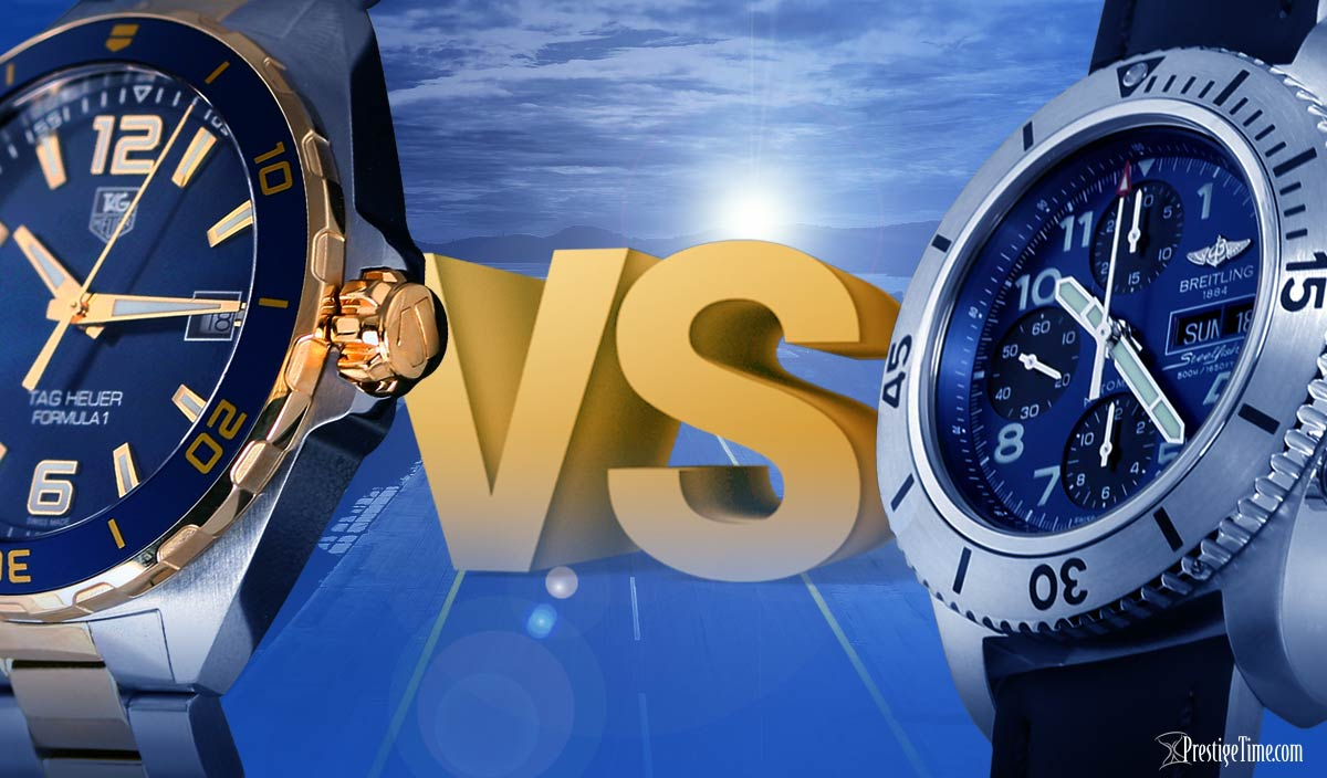 TAG Heuer VS Breitling