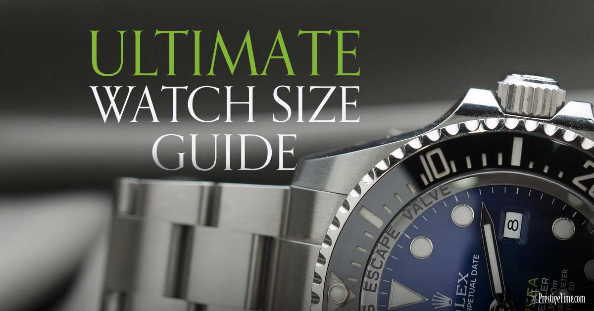 Watch Size Guide: Which Size Watch is Best for You?