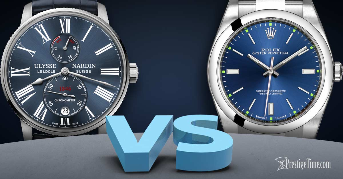 Ulysse Nardin VS Rolex – Which is Best?
