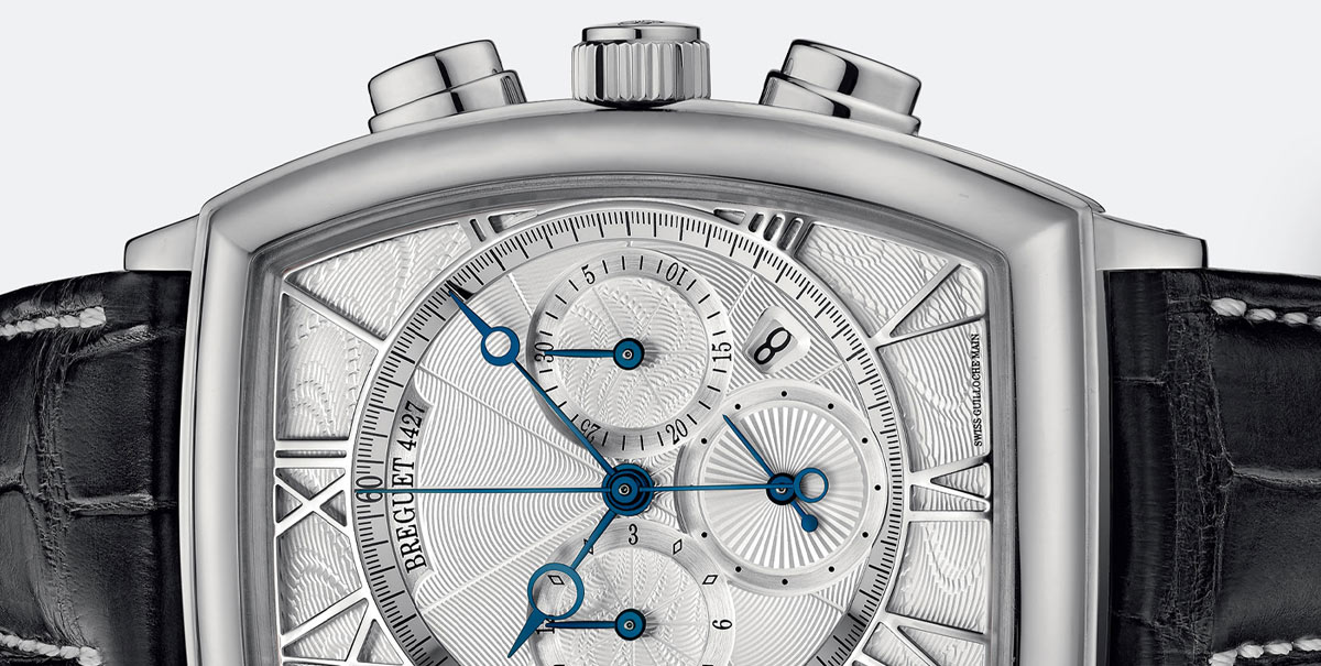 Heritage Chronograph White Gold
